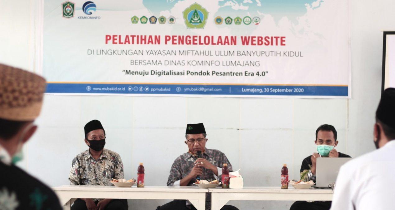 Tingkatkan Kompetensi, Ketua dan Admin Poskestren Ikuti Pelatihan Pengelolaan Website